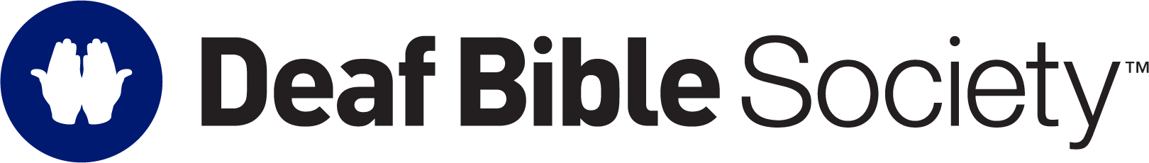 Deaf Bible Society Logo